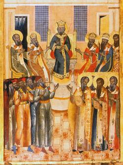 secondecumenical Всемирното Православие - ПРОПОВЕД ЗА НЕДЕЛЯ НА СВ. ОТЦИ ОТ 6-ТЕ ВСЕЛЕНСКИ СЪБОРИ