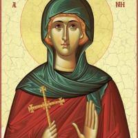 Св. Ипомония - от търпение била изтъкана душата ѝ